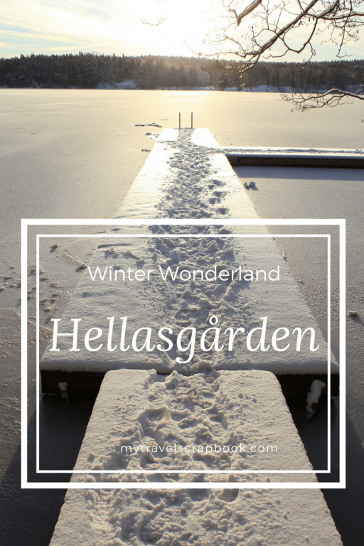 Hellasgarden is a beautiful hike to do within Stockholm. Read my blog post on how to get there and see gorgeous photos of Hellasgarden in winter #Hellasgarden #snow #Stockholm #mytravelscrapbook