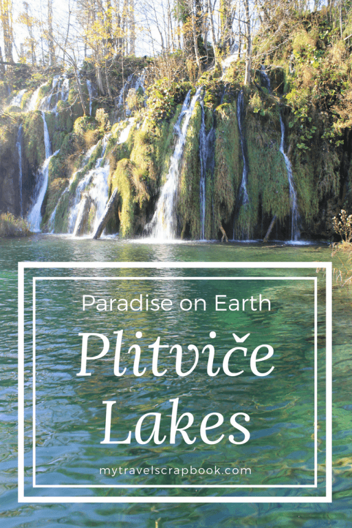 Is this Croatia's most beautiful National Park? Why you should visit the incredible UNESCO Plitvice Lakes #Plitvice #Croatia mytravelscrapbook.com
