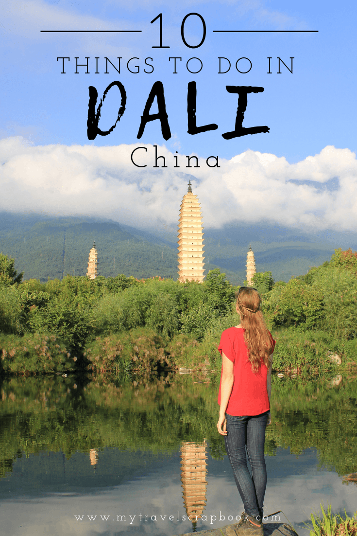 Dali Old Town is a beautiful place in the Himalayan foothills in China. There are so many things to do there from seeing the spectacular 3 golden pagodas to meeting the Bai minority to admiring the views on the shore of Erhai. #dali #yunnan #thingstodo