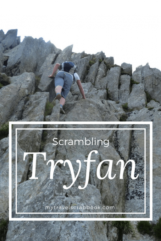 Have you ever accidently hiked the wrong mountain? We did, turns out it was the best mistake and we loved scrambling up Tryfan in Snowdonia. Read here to see photos and read about our adventures. #tryfan #wales #hike #scramble #mytravelscrapbook