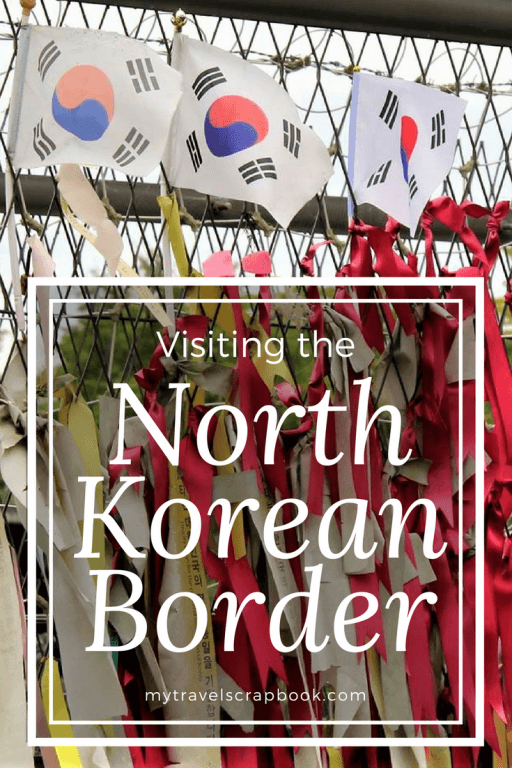 Visiting the North Korean Border from Seoul is a sad trip. Read this to find out about our solemn visit and how to do it yourself.  We visited the JSA, DMZ, 3rd Infiltration Tunnel, Freedom Bridge, Dorasan Station and Dorasan observation tower. #northkorea #dmz #koreanborder #mytravelscrapbook
