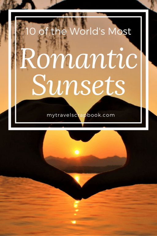 10 of the World's Most Romantic Sunsets <3  Sunsets have been voted more romantic than candlelit dinners. Therefore grab your love, partner or date and take them to one of these romantic sunset spots around the globe #sunset #romance #date #romanticsunsets