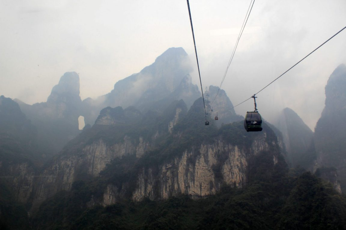 Tianmen cable car 1 day one day national park heaven gate cave