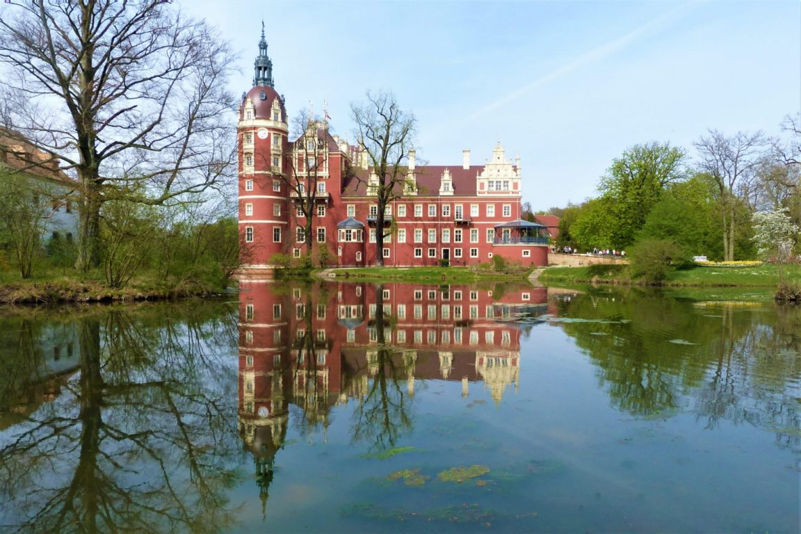 Bad Muskau Saxony Germany Poland Park UNESCO