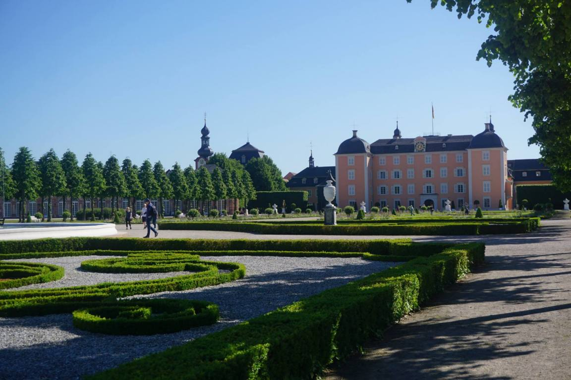 Schwetzingen Germany Travel
