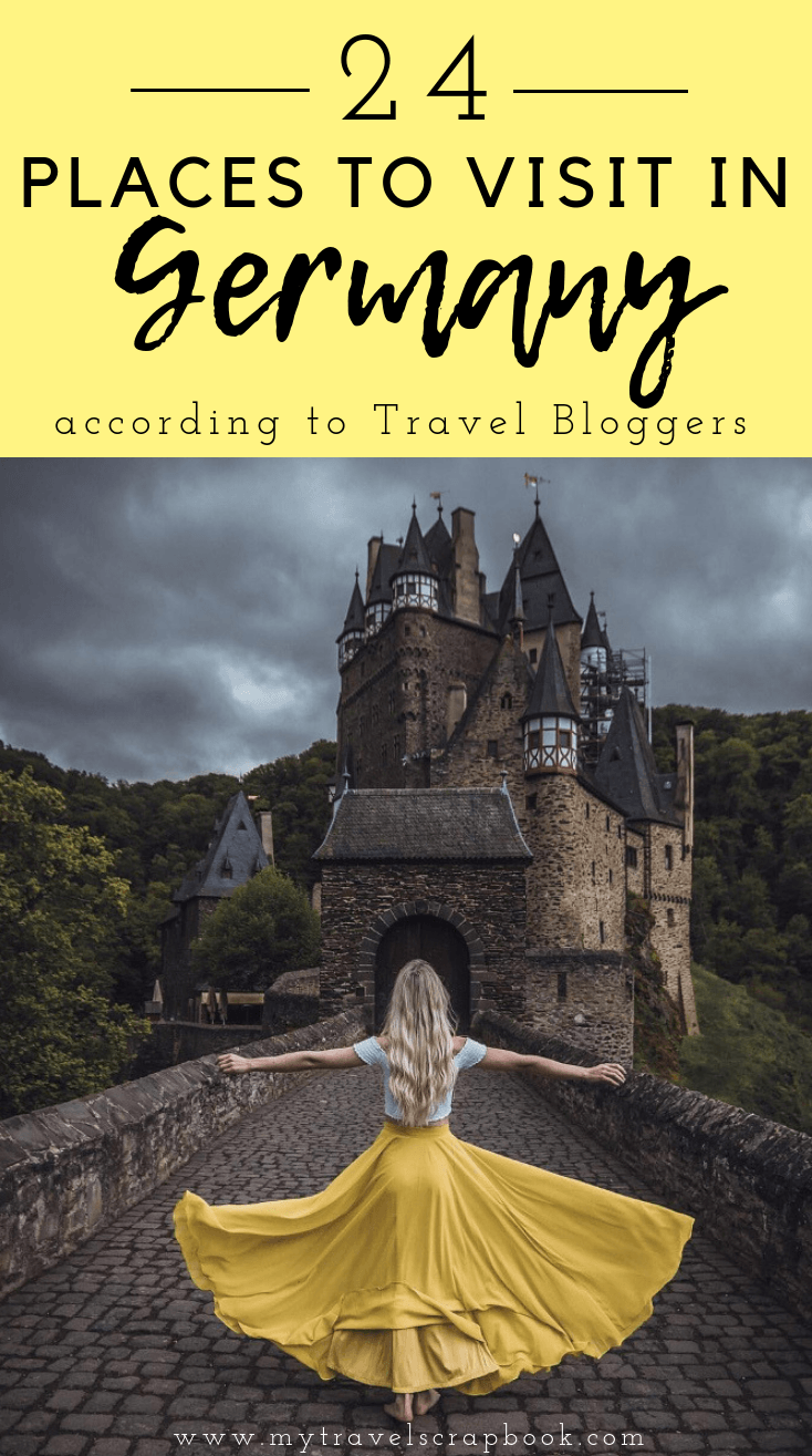 The Best Places to Visit in Germany according to Travel Bloggers! Germany is full of magical forests, medieval towns, hip cities and incredible landscapes. Click here to see which places in Germany you cannot miss when you visit this amazing European Country #germany #germantravel