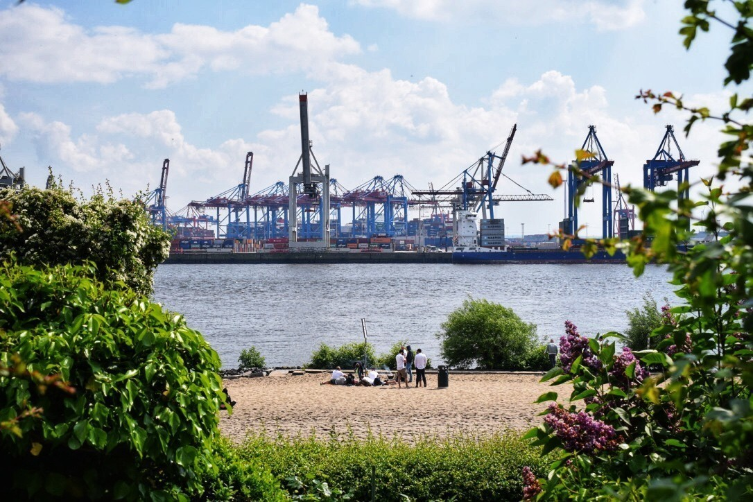 hamburg Port Germany North Sea Harbour