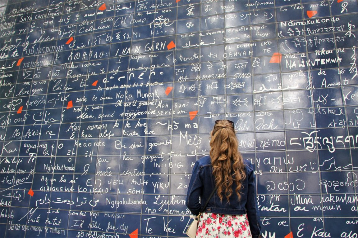 The Wall of Love Montmartre Paris Instagram Spots