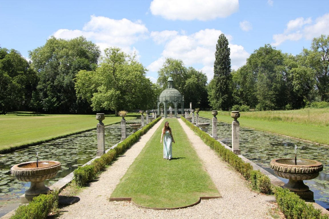 Island of Love, Chantilly, Chateau, English Gardens