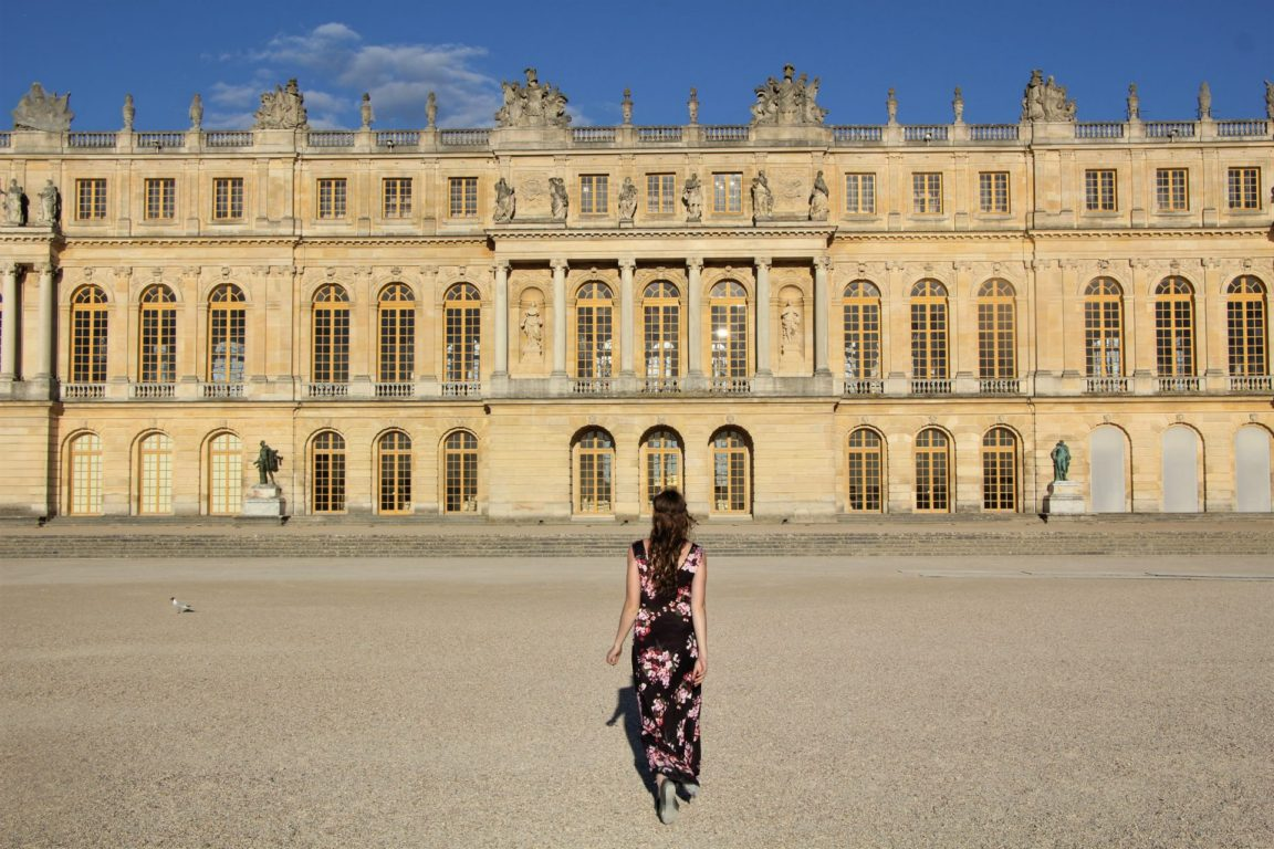 versailles no crowds