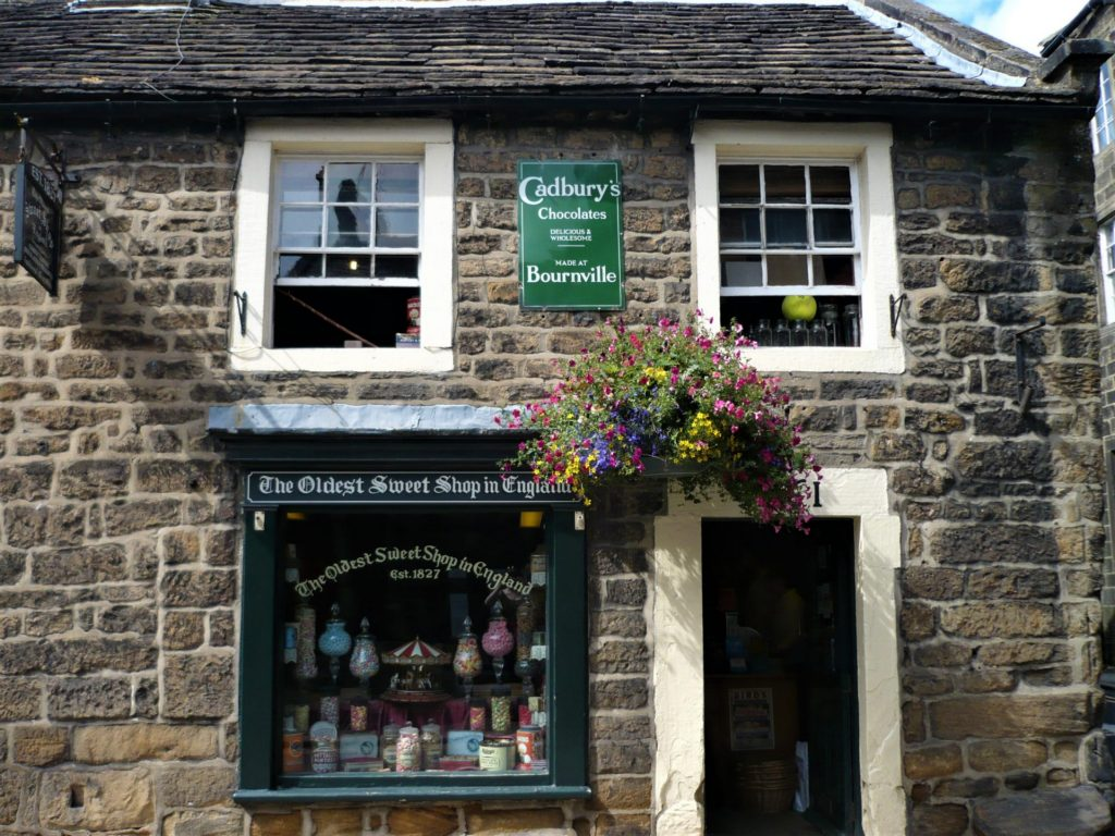 England's oldest sweet shop