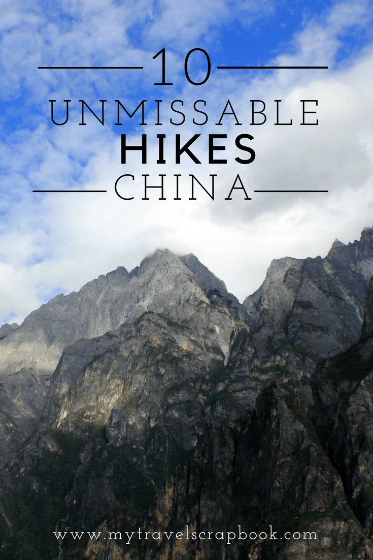 Love hiking? Want to go hiking in China but not sure where to start with this vast country? Click on this link to see 10 hikes you cannot miss when visiting or living in China! #hiking #china #chinahiking