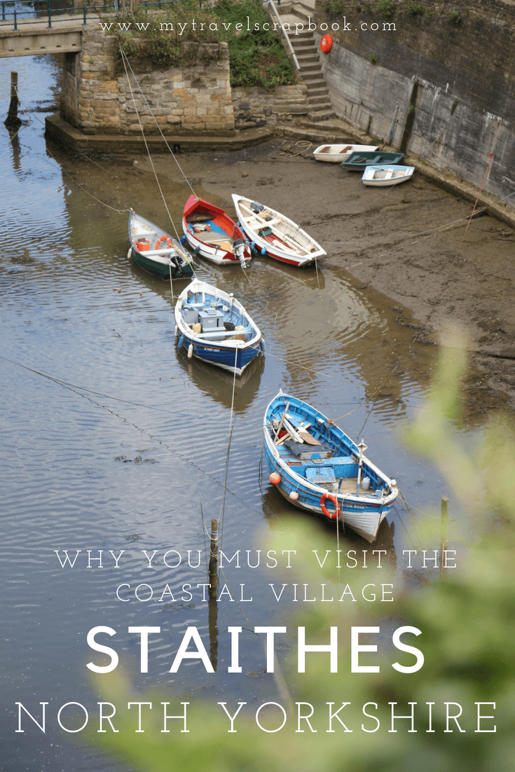 Staithes is a sleepy coastal village tucked away in the North Yorkshire Moors. This idyllic place is full of beautiful things to see. Click on this post to see why you must visit this pretty fishing village on the North Sea. #staithes #yorkshire #england via @MyTravelScrapbook