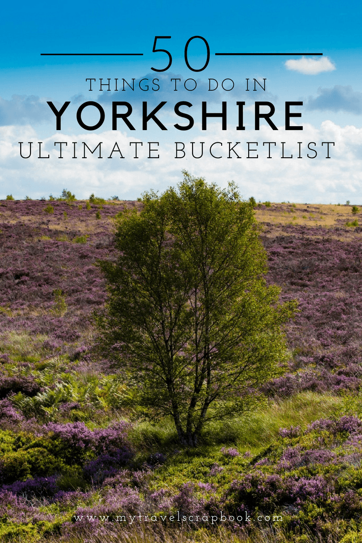 The Ultimate Yorkshire Bucket List! Yorkshire is one of the UK\'s most beautiful places but what can you do and see there? In this guide find out the 50 things to do and see in Yorkshire. #Yorkshire #UK