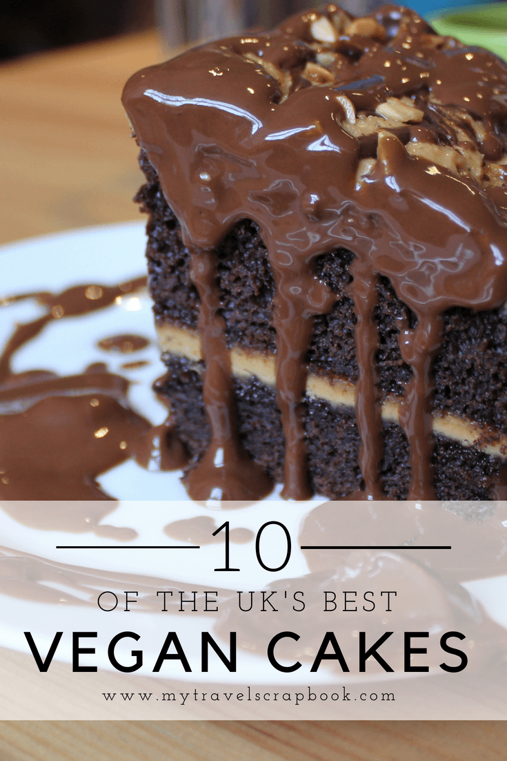 Being vegan is easier and more delicious than ever before! The UK has many delicious vegan cakes, ice creams, donuts, brownies etc to discover. See my top 10 vegan cakes in the UK here. You can have your cake and save the planet too!  #mytravelscrapbook #vegancake #vegan #veganuk