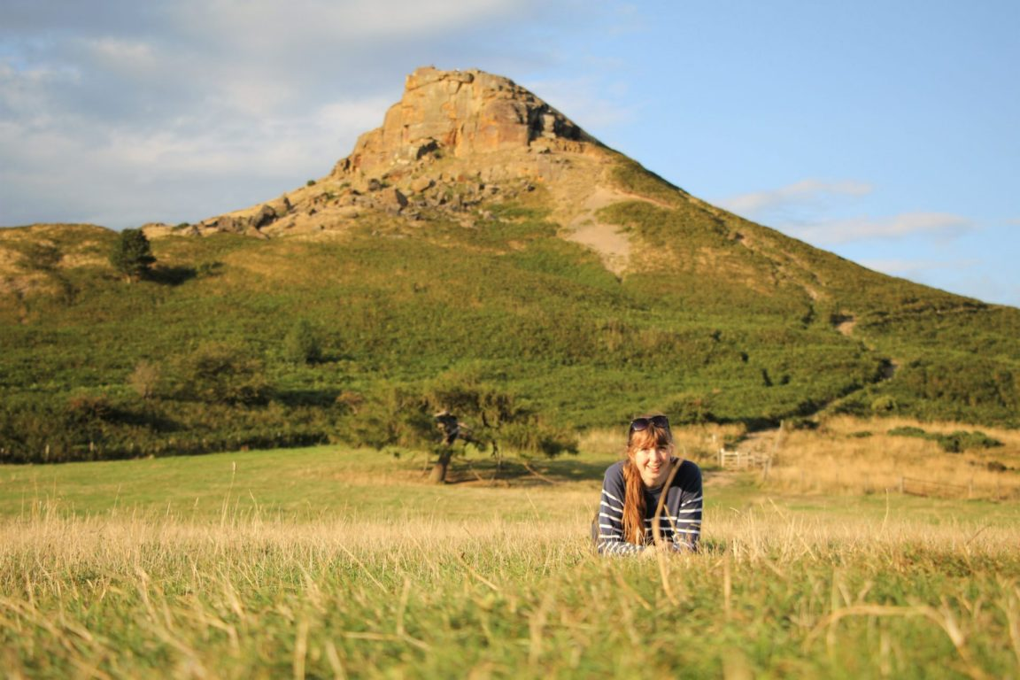 anna Roseberry Topping Yorkshire Hiking