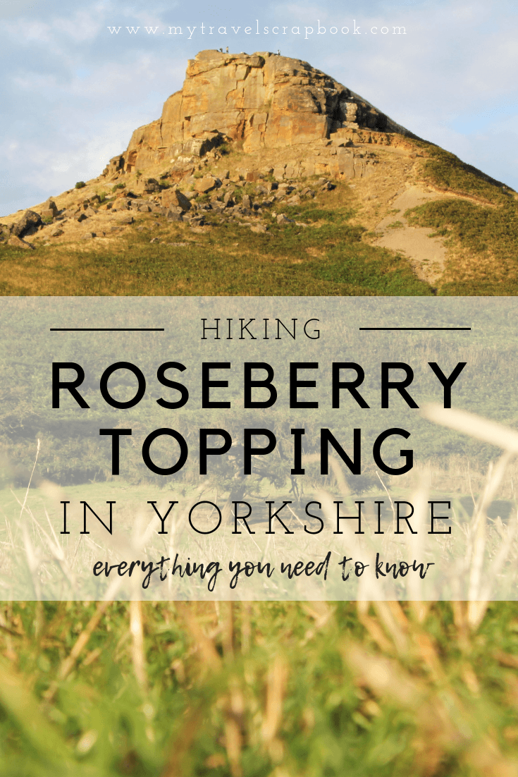 Why you need to hike Roseberry Topping in the North Yorkshire Moors, England. Click here to read about this lovely little hill in the North of the UK and everything you need to know about hiking Roseberry Topping. #yorkshire #mytravelscrapbook #hiking