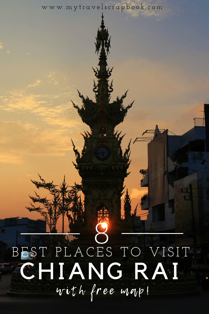 8 Best Things to do in Chiang Rai! Check out one of Thailand's most ethical Elephant Sanctuaries, sample epic street food, visit the White Temple and watch a spectacular light show. Click on the link to see the full list! #chiangrai #thailand #elephant #whitetemple