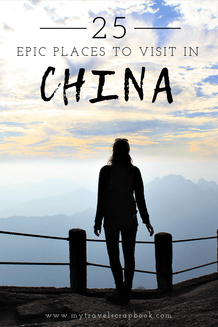 25 Epic Places to Visit in China according to Travel Bloggers. Travel Bloggers share their favourite spots from the North of to the South of China, Asia. Which ones would you like to add to your China Bucketlist? #china #placestovisitchina #visitchina
