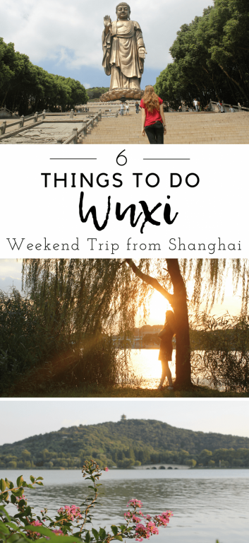 Why you should visit Wuxi - 6 things to do in the city of Wuxi on Lake Tai just 30 minutes from Shanghai, China. Forget Suzhou and Hangzhou, escape the crowds and take a weekend trip to Wuxi in Jiangsu province and see the world's tallest Buddha! #wuxi #shanghai #china