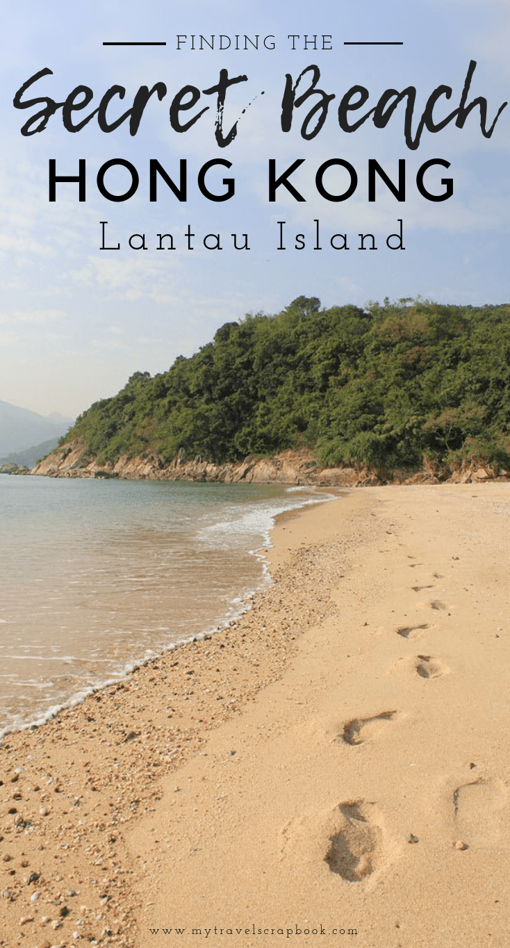 How to find a secret beach just outside of the bustling metropolis of Hong Kong! Jump on a ferry to nearby Lantau island to Silvermine Bay and after a short walk find your very own private beach! #hongkong #secretbeach #lantau