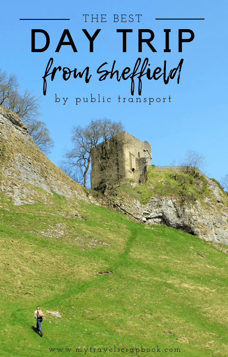 The Best Day Trip from Sheffield by public transport! Travelling to some of England\'s national parks such as the Peak District can be hard without a car. However, there is a beautiful village not far from Sheffield full of pretty stone cottages, a ruined castle and breathtaking hikes. #peakdistrict #visitengland #nationalpark #hiking #castleton