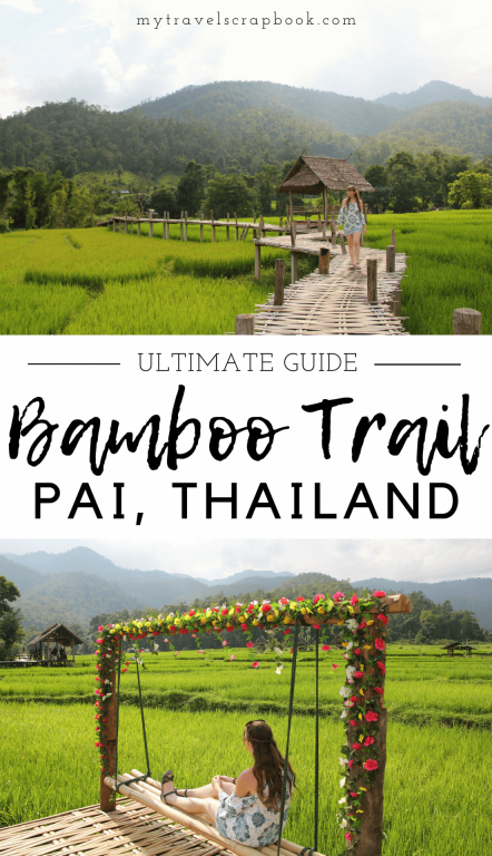 The Ultimate Guide to one of Pai's best-kept secrets - The Bamboo Bridge Trail! Boon Koh Ku So is a beautiful short trail hidden in the Himalayan foothills. Long has it been little known to tourists, yet more and more are finding this treasure! Read this post to find out everything you need to know about one of Thailand's best short hikes. Go now before everyone finds it!  #thailand #secret #hiking #bamboobridge #PaiBambooBridge