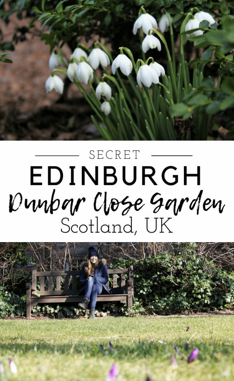 Dunbar Close Garden in Edinburgh just off the Royal Mile is one of the Scottish capitals greatest hidden secrets. Through an unassuming passageway, you enter a beautiful walled oasis. Click on the link to read more about the history and how to find Dunbar Close Garden in Scotland. #dunbarclosegarden #edinburgh #secret