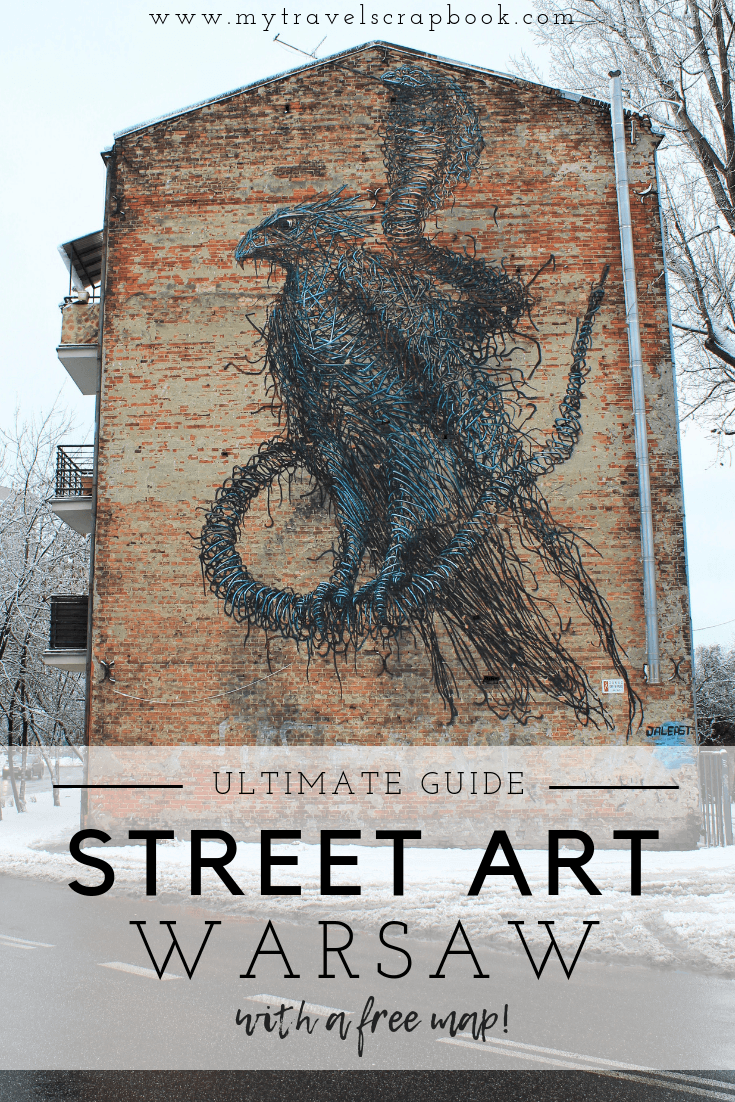 The Ultimate Guide to Street Art in the Praga District of Warsaw, Poland. Click here to see where to find epic murals, cool graffiti and incredible street art in the Polish capital. There is a free map to help you plan your street art exploration! #streetart #warsaw #freemap