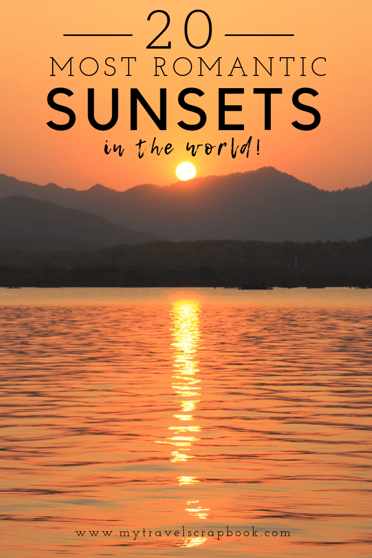10 of the World's Most Romantic Sunsets <3 