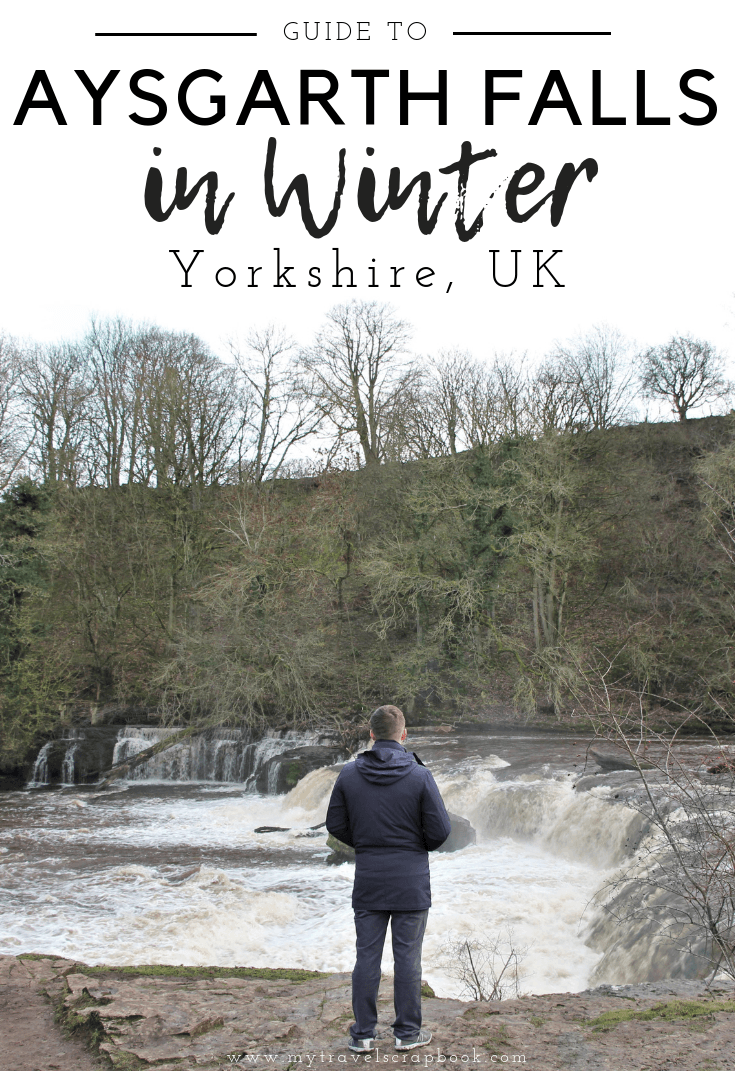 Aysgarth Waterfall is actually a series of waterfalls. The Falls lie in the far north of the stunning Yorkshire Dales in England. Click on this post to find out everything you need to know about visiting the spectacular Aysgarth Falls in Winter #aysgarth #yorkshire #visitengland