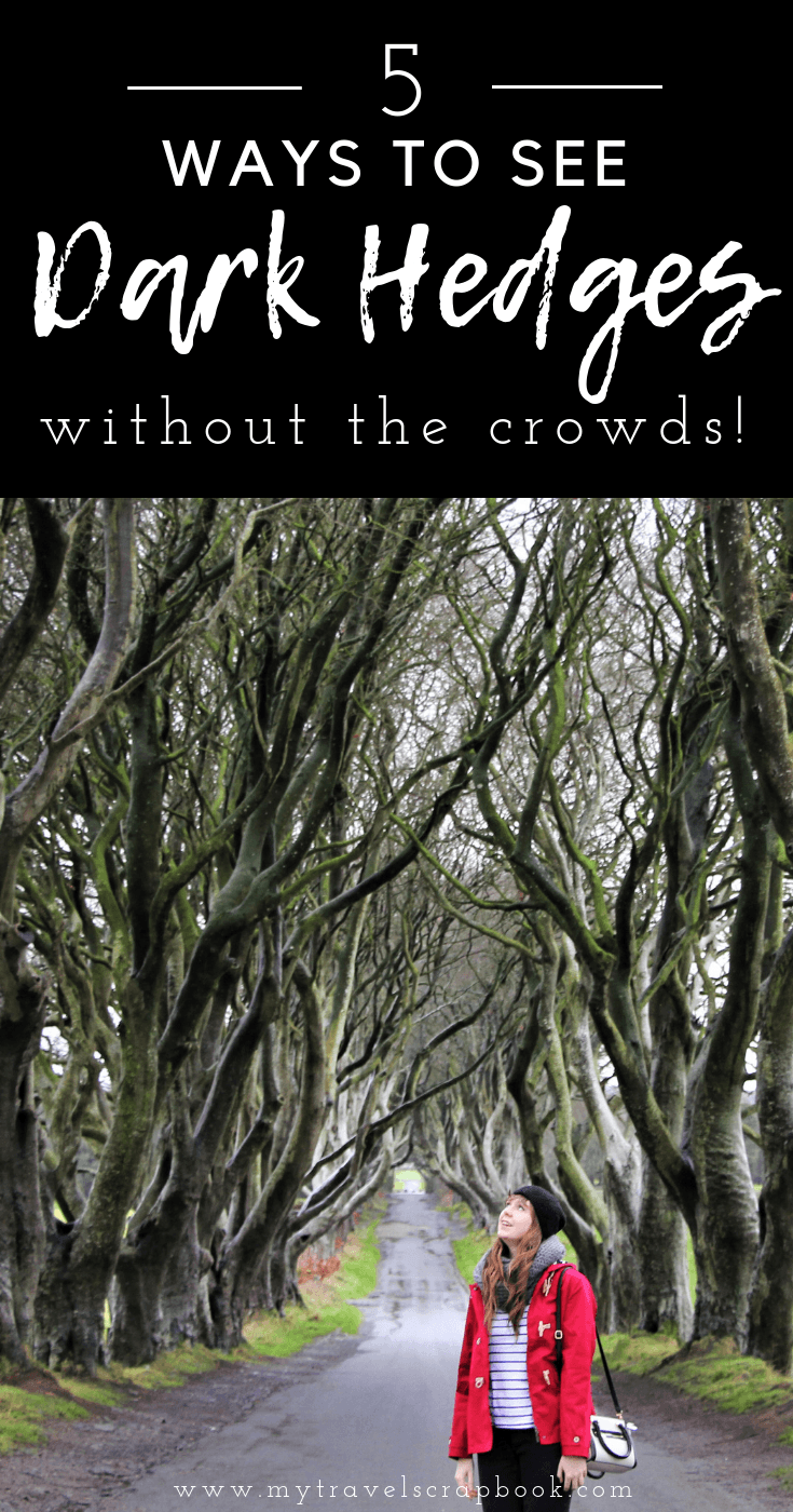 How to see the Dark Hedges in Northern Ireland without the crowds! Since the Dark Hedges appeared in Game of Thrones, the mystical path of trees has become a must see stop on the ultimate Irish road trip. This now means it can be hard to take that Instagram perfect shot without the crowds. Yet there are a few ways to avoid the crowds, find out how by clicking on the link #darkhedges #northernireland #irishroadtrip
