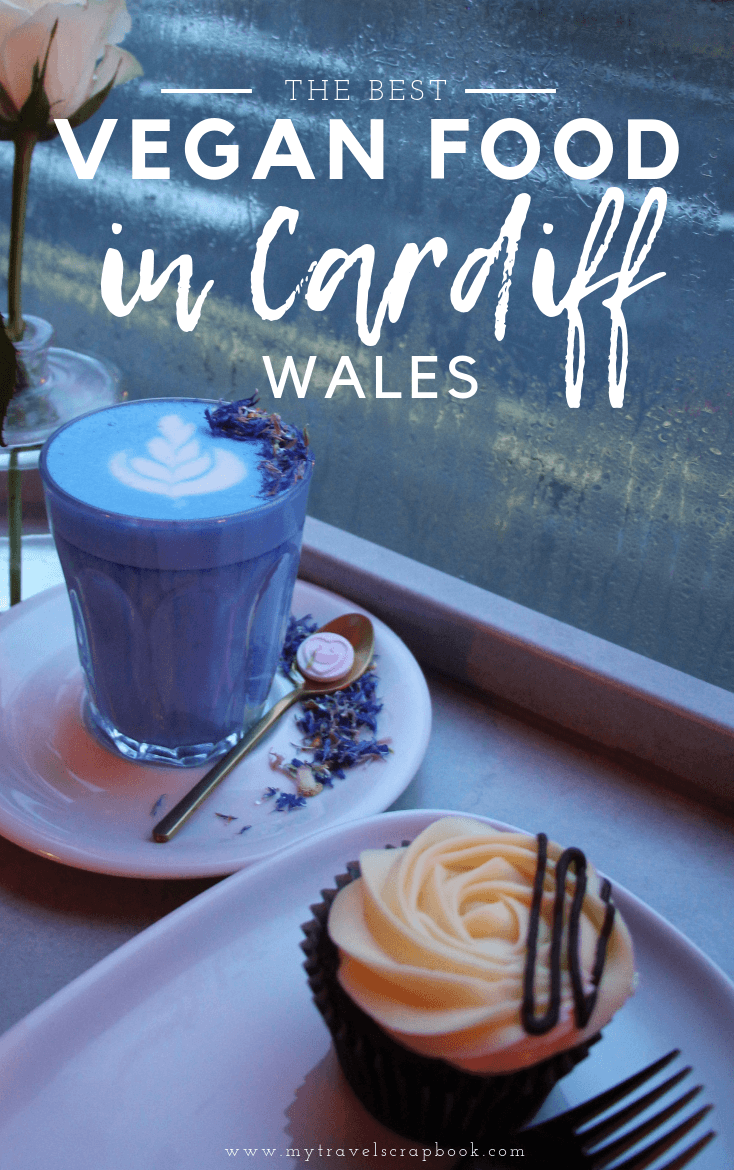 The Best Vegan Food in Cardiff, Wales, UK. Click here to see where the best vegan, vegetarian and vegan-friendly restaurants in Cardiff are, along with how to visit the most instagrammable vegan cafe in the UK! #vegan #vegancardiff #veganuk