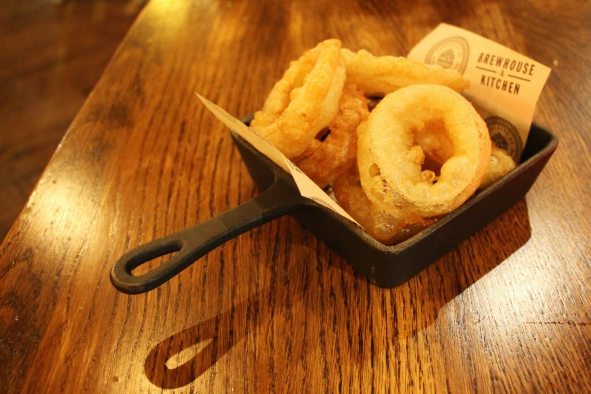 Onion Rings at Brewhouse and Kitchen