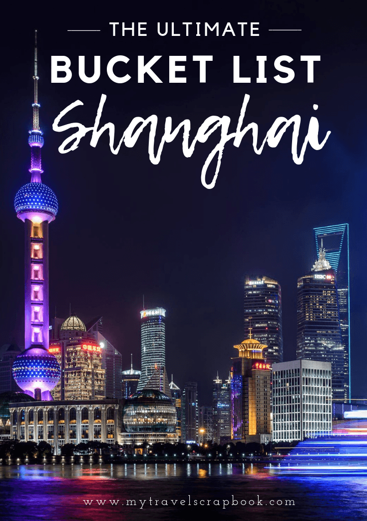 50 Things to do in Shanghai - The Ultimate Shanghai Bucket List! Click here to see 50 things to do and see in and around the Chinese city of Shanghai. Whether you are in the city for a week or a year this is the ultimate inspirational guide for things to do in Shanghai. #china #shanghai #thingstodo