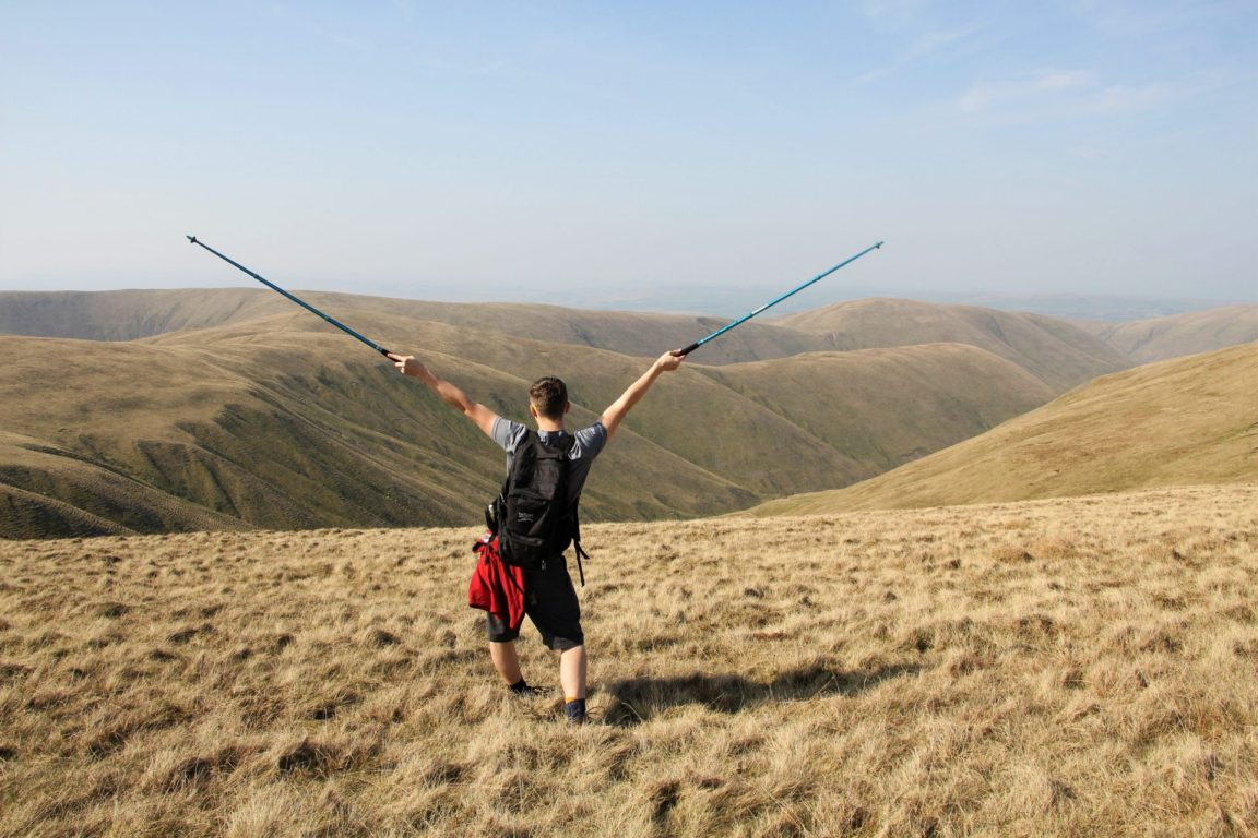 The view from the Calf of the Howgills