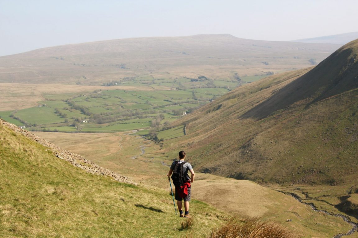 Hiking in the Howgills