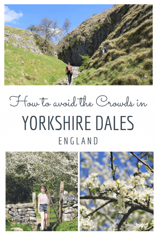 Yorkshire\'s best hike for escaping the crowds! Check out this crowd-free hike which starts in Grassington in the heart of the Yorkshire Dales national park. This wonderfully varied hike takes visitors along the river Wharfe, up through Conistone Dip, along moorland by otherworldy geographical features. #yorkshire #yorkshiredales #yorkshirehike