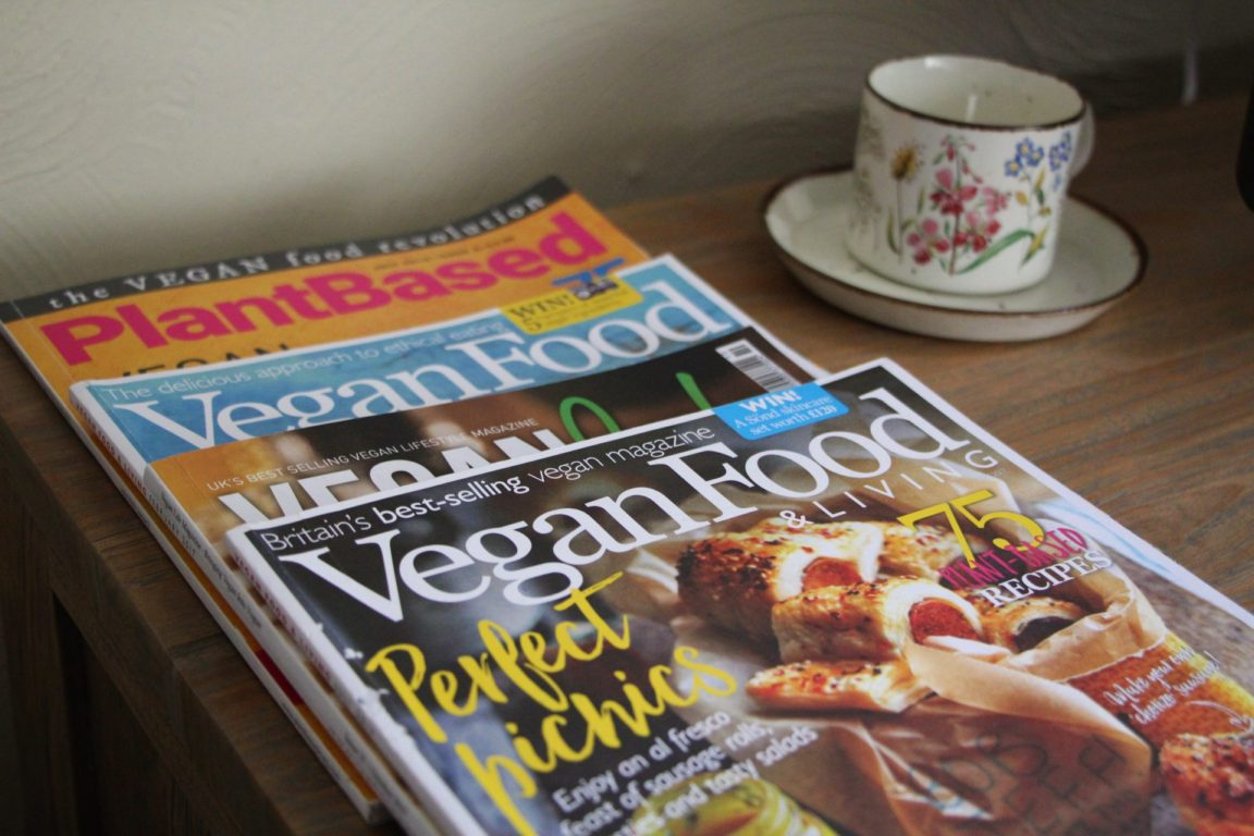 vegan magazines