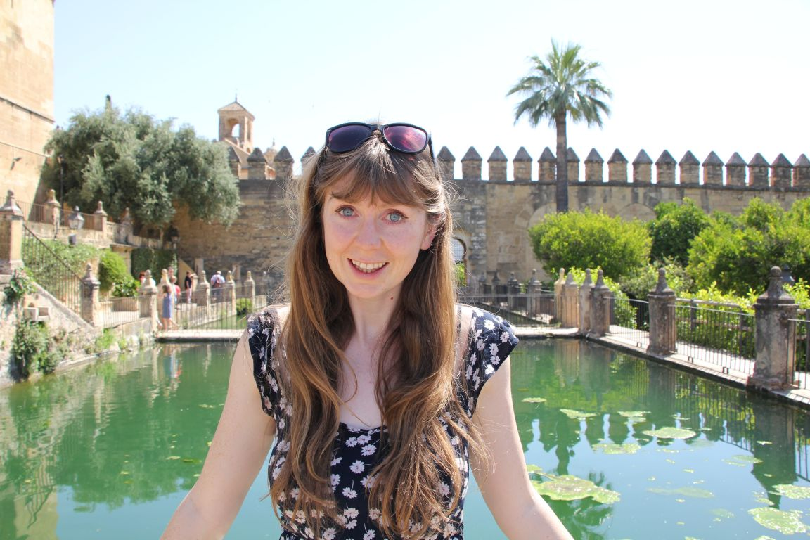 Alcazar of Cordoba girl