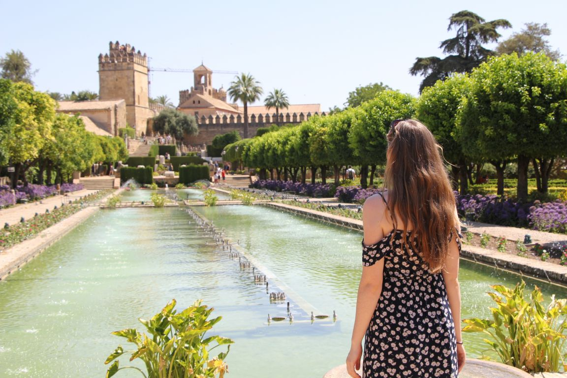Alcazar grand pool cordoba