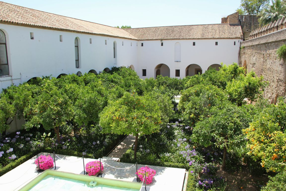 Alcazar of Cordoba Moorish Courtyard