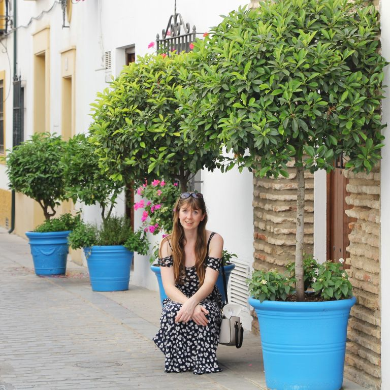 girl in San Basilio district in Cordoba