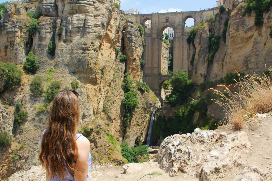 View of the New Bridge in Ronda