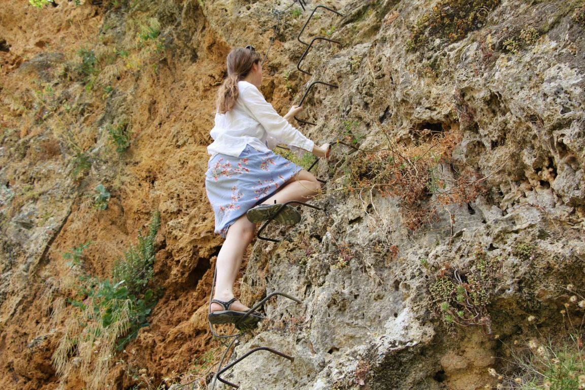 The Secret Via Ferrata in Ronda