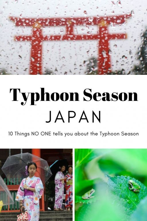 10 Things no one tells you about typhoon season in Japan. The summer months in Japan bring heavy rain and strong winds to the country. Click on this post to find out everything you need to know about visiting Japan during the Typhoon season. #japan #typhoon #japantyphoon