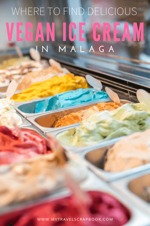 Vegan Ice Cream in Malaga! Where to find delicious vegan ice cream in Malaga, Spain with free map. From zesty sorbets to creamy vegan helado this is the ultimate guide to vegan ice cream in Malaga on the Costa del Sol. #veganicecream #veganhelado #malaga