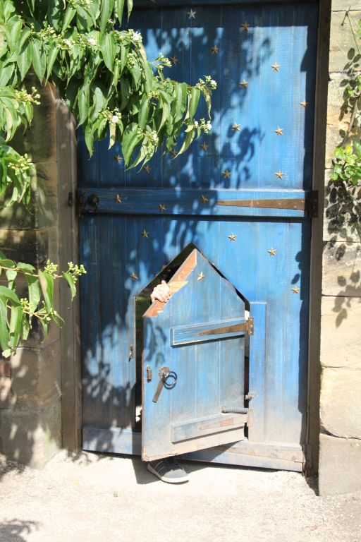 Alnwick Garden Secret Blue Door