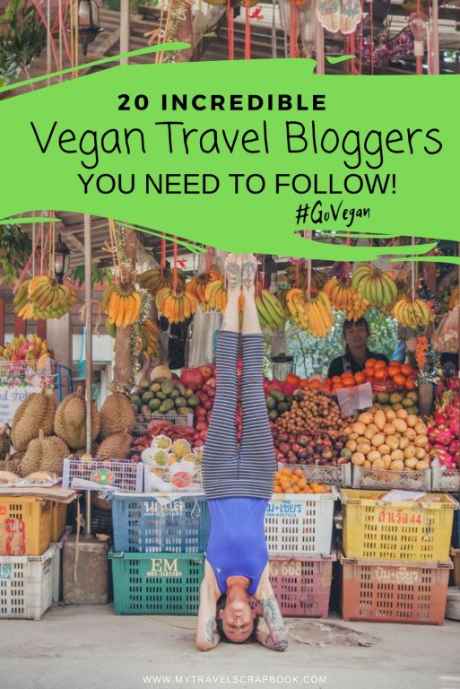 20 Vegan Travel Bloggers to follow in 2019!  20 Vegan Travellers share their stories, favourite vegan food and why they love travelling as vegans! #vegan #vegantravel