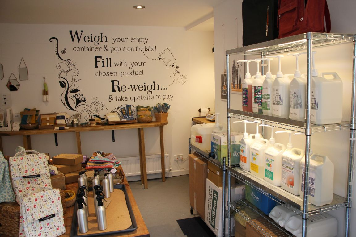 Zero waste shop saltaire
